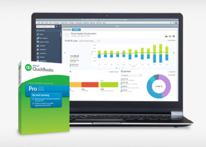 QuickBooks Pro provides robust reporting