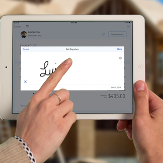 Intuit GoPayment with iPad